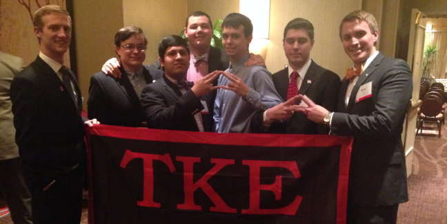 students attending TKE conference