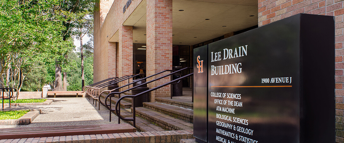 lee drain building on campus