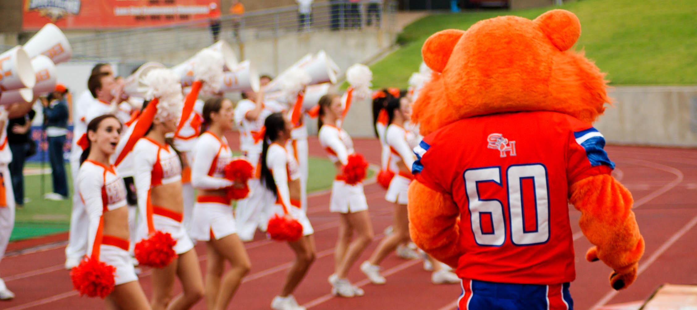 mascot squad spirit programs sam houston state university