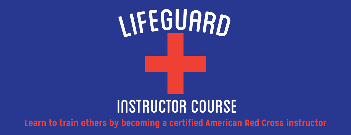Lifeguard Instructor Training Promo with a Red Cross