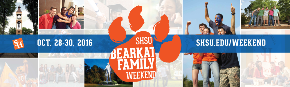 Bearkat Family Weekend Banner