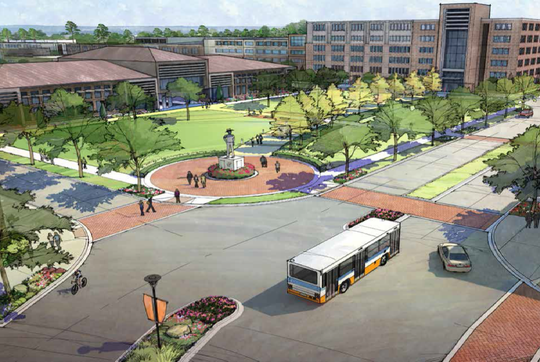 Innovation Plaza Rendering