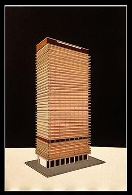 painting of exxonmobile building
