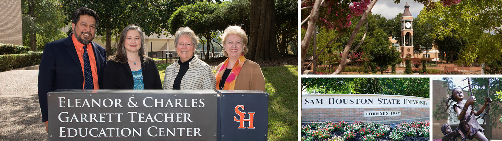 Garrett Center Sam Houston State University. Creating a path to your future. Families, Educators, Students.