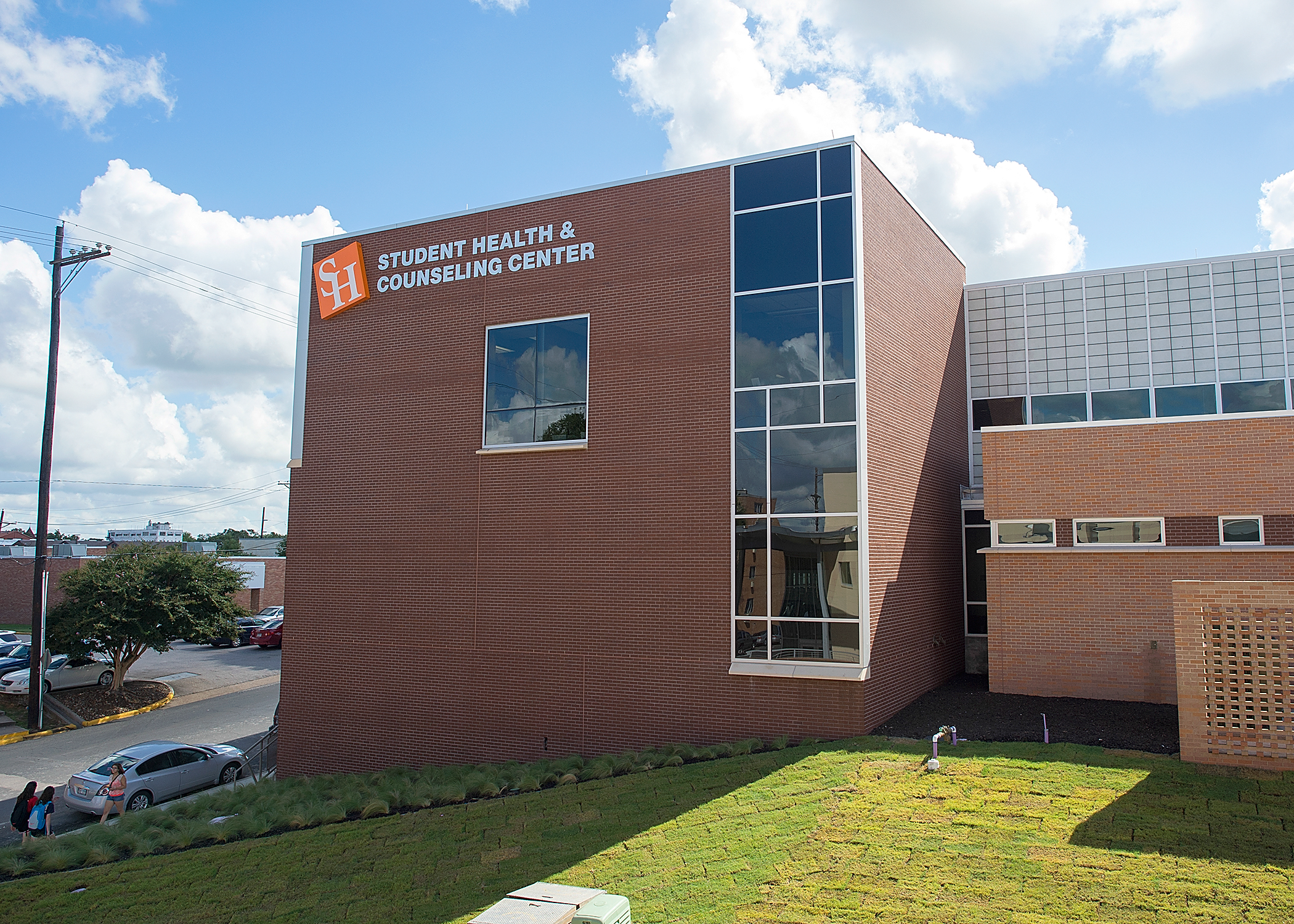 Student Health & Counseling Center Exterior