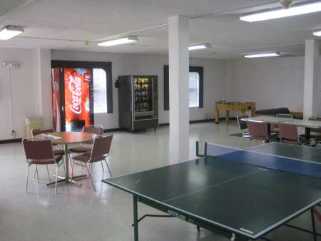 Baldwin common area ping pong table