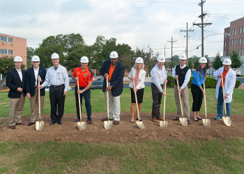 Ground Breaking Day at the site of the new SHCC!