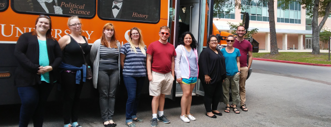 Sociology Students Visit Austin