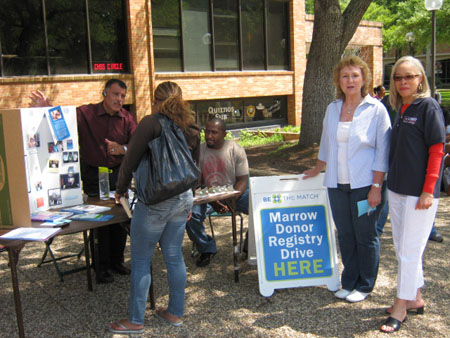 Bone Marrow Drive and Health Fair 001