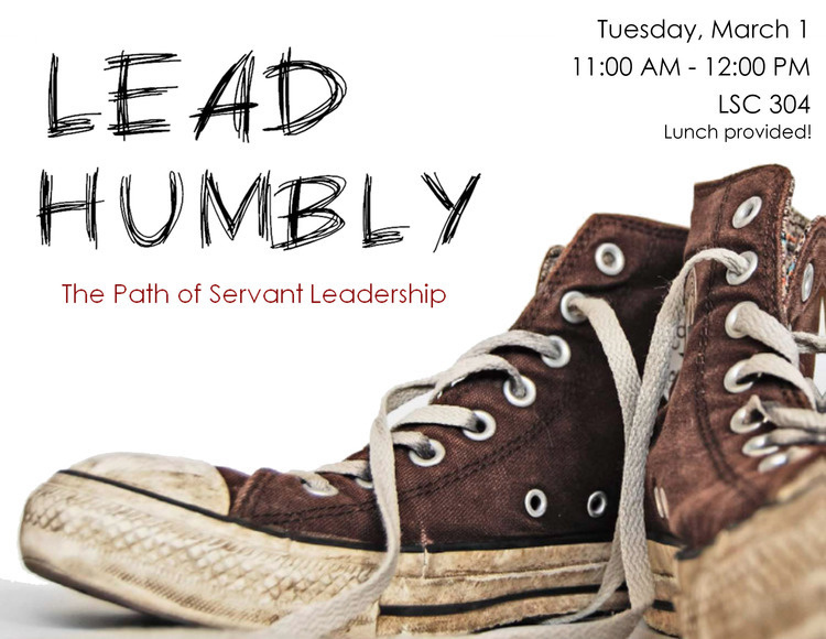 lead humbly