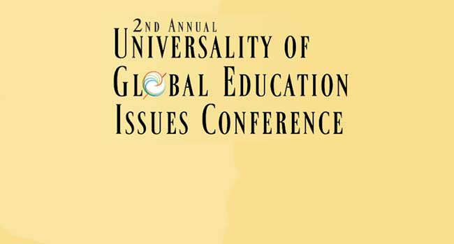 logo 2nd Annual Universality of Global Education Issues Conference