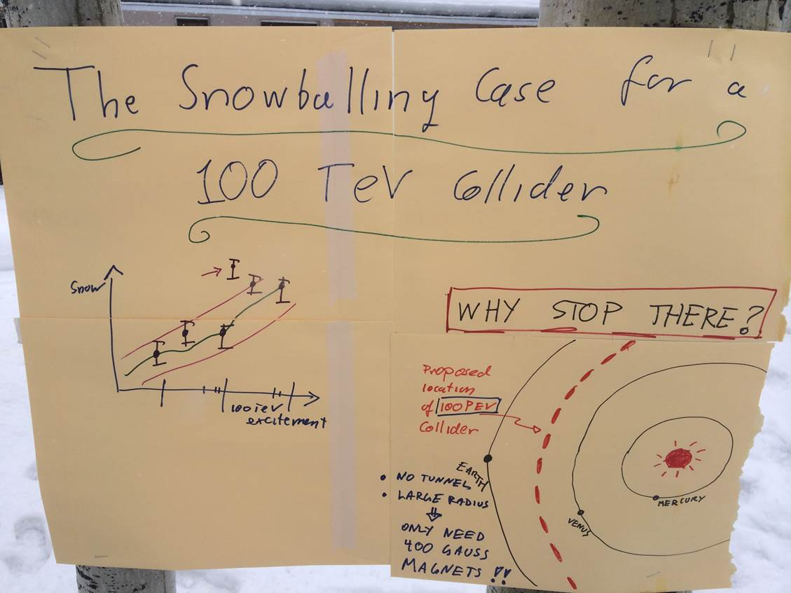 TeV Collider Snowball