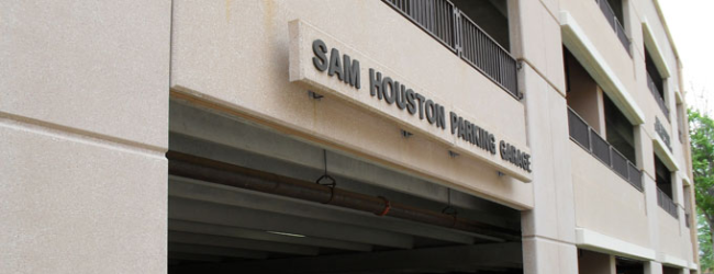 Sam Houston Parking Garage