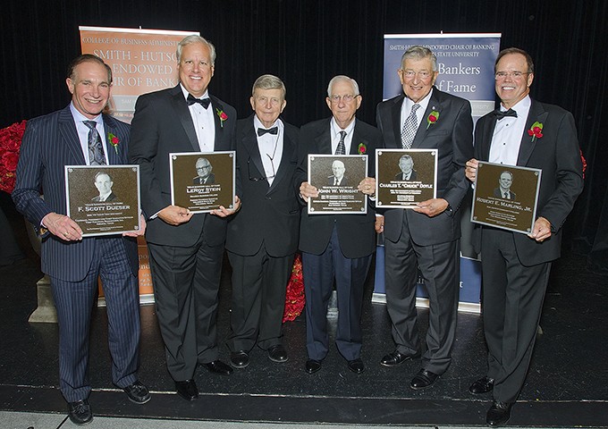 2015 Banker Hall of Fame Recipients