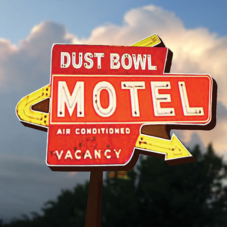 Dust Bowl Motel Graphic