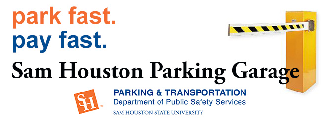 http://www.shsu.edu/dept/public-safety/parktrans/garage.html