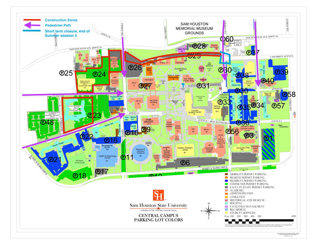 Central Campus Map