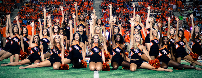 SHSU's Orange Pride Dance Team