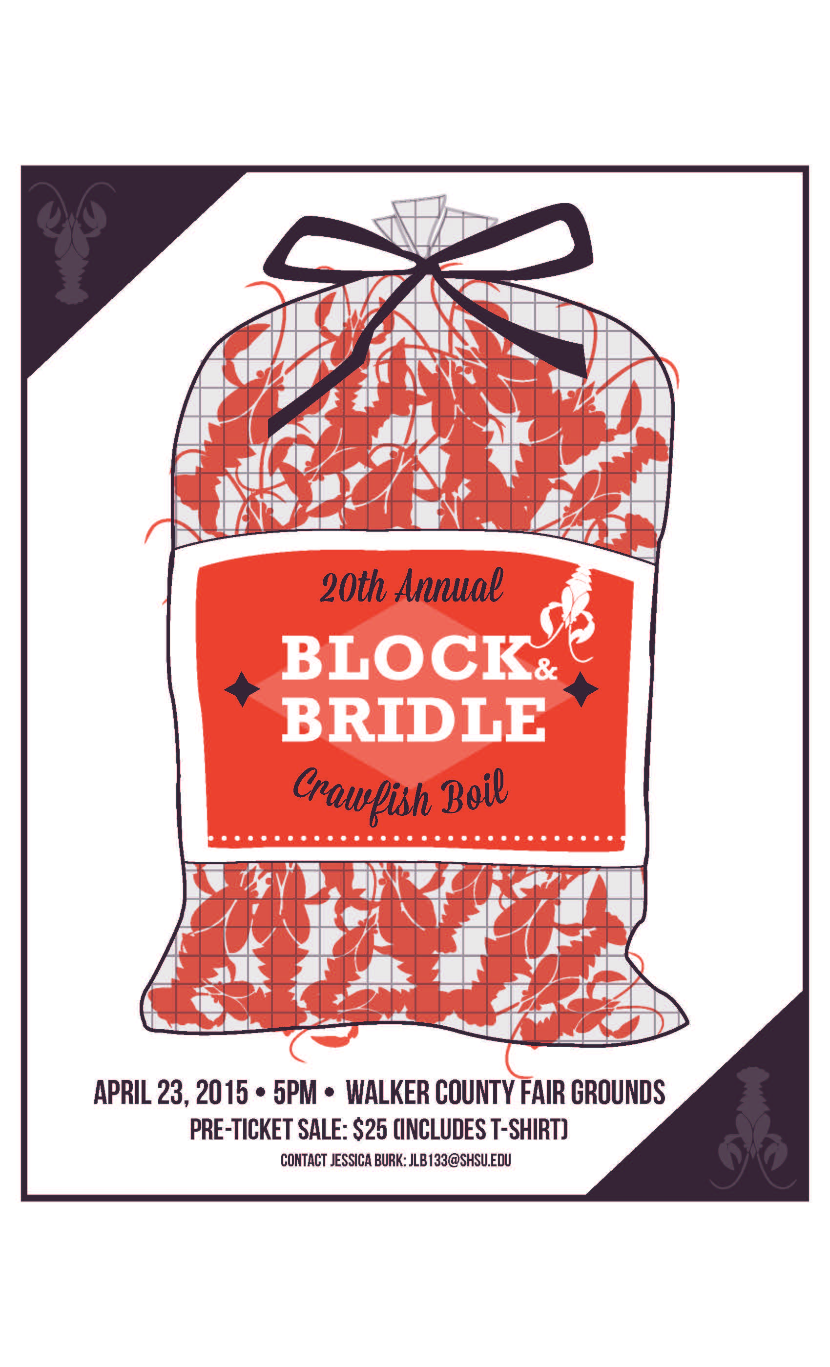 20th Annual Block & Bridle Crawfish Boil