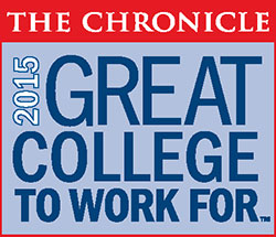 logo The Chronicle 2015 Great College to Work For
