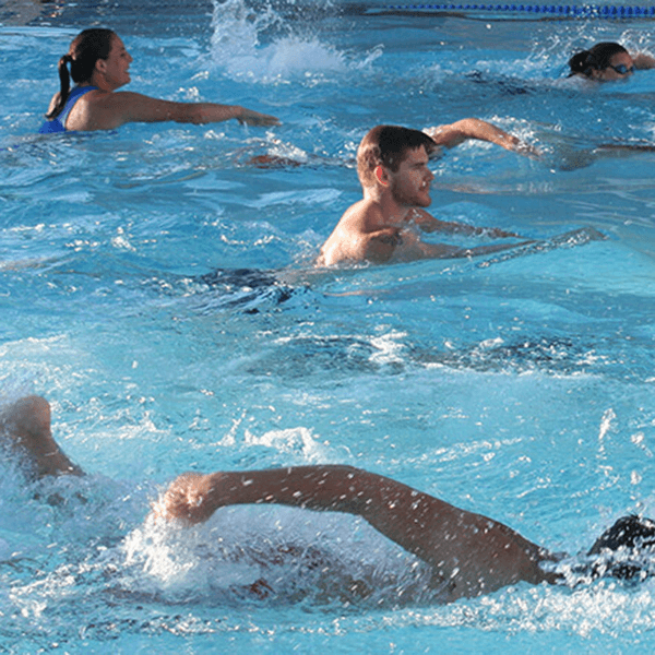 People Swimming In Pool