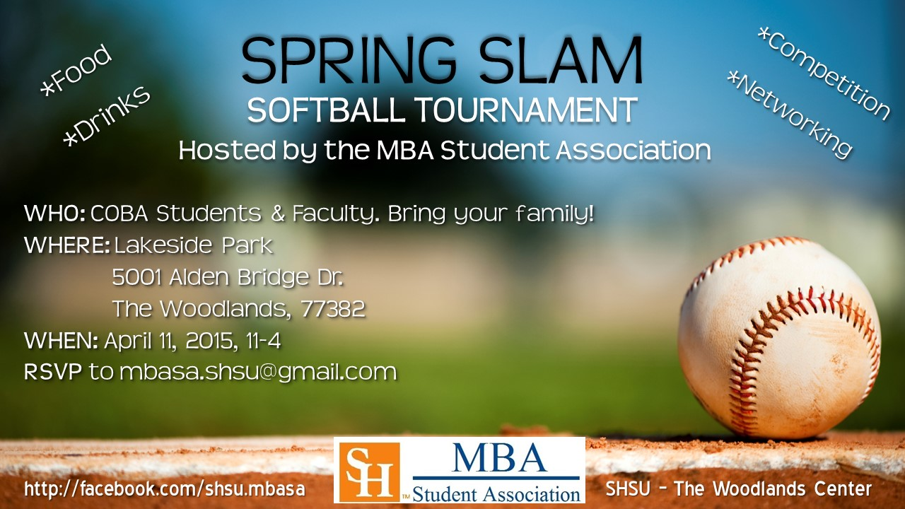 Spring Slam Softball Tournament