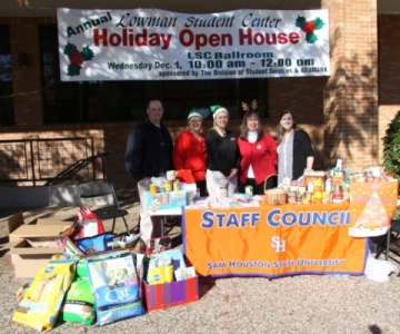 Fall 2010 Holiday Food Drive