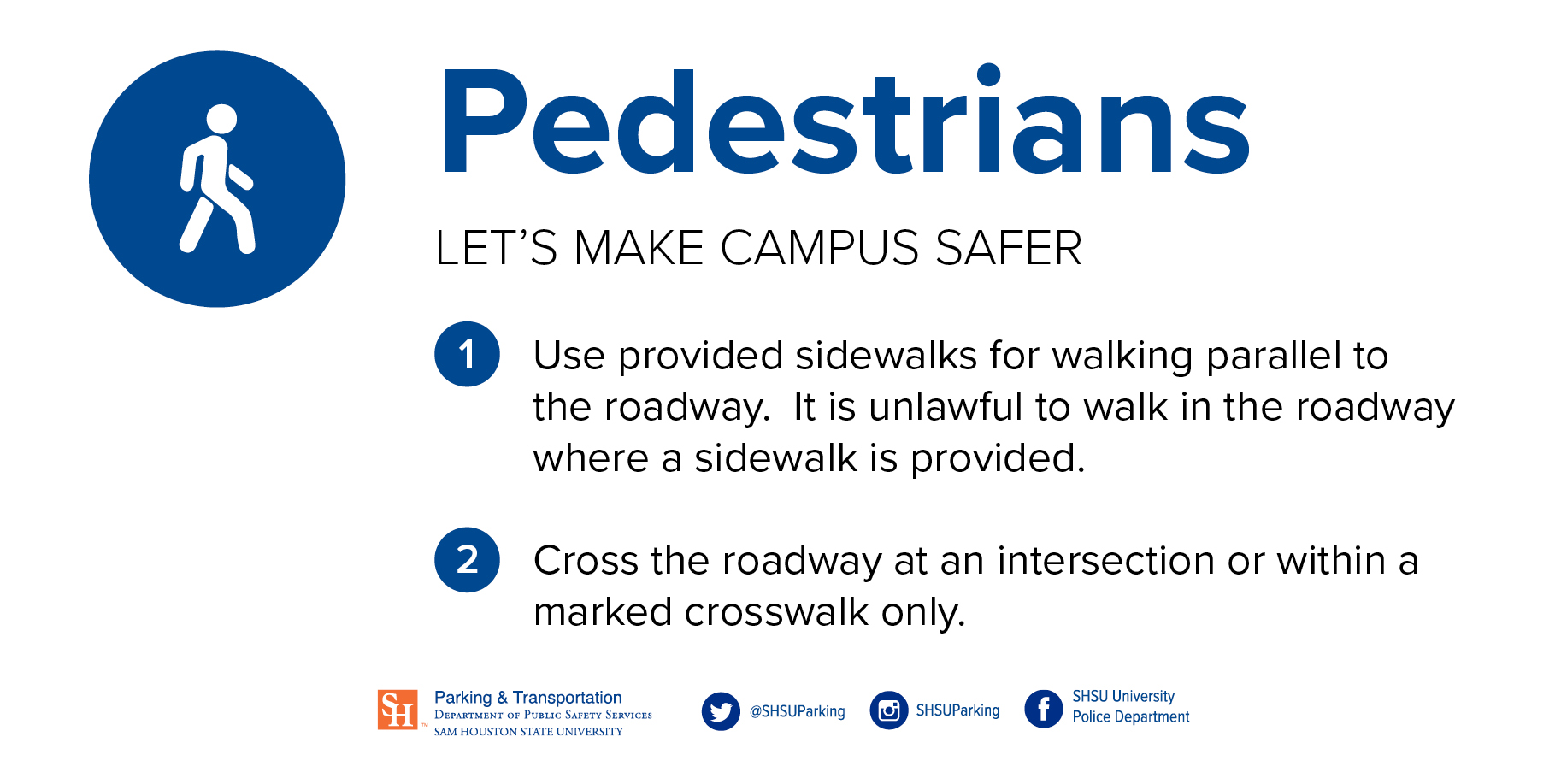 Pedestrians look for cars and use sidewalks