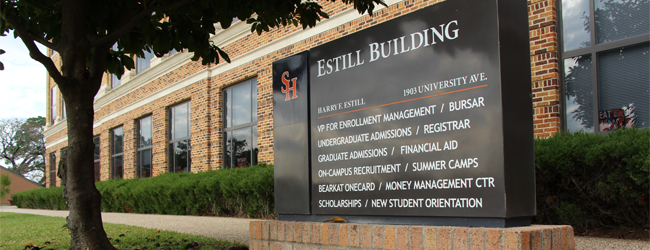 estill building and sign
