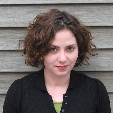 Lauren Shapiro speaks at the MFA Creative Writing Program