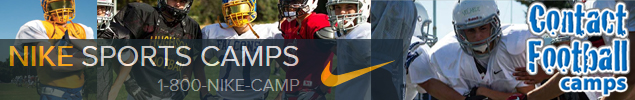 Nike Sports Contact Football Camp