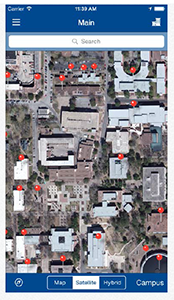 sam houston state university campus map Campus Map Contacts sam houston state university campus map