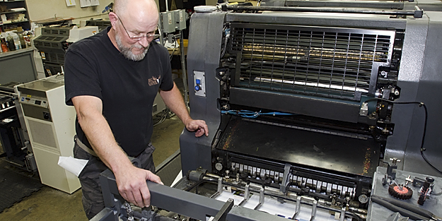 The Press - Getting Your Projects Printed