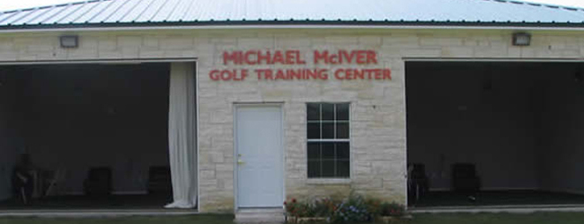 Michael McIver Golf Training Center