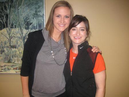 Sarah and Laura