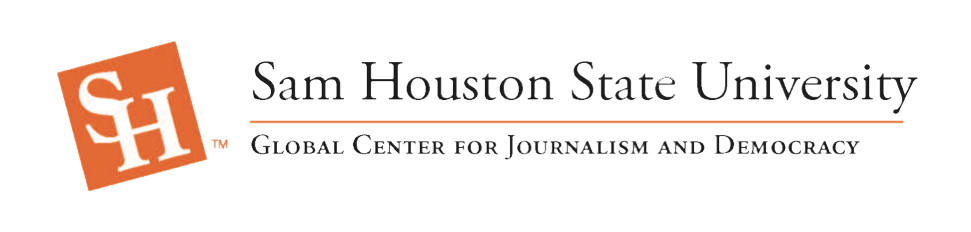 Sam Houston State University Global Center for Journalism and Democracy Header