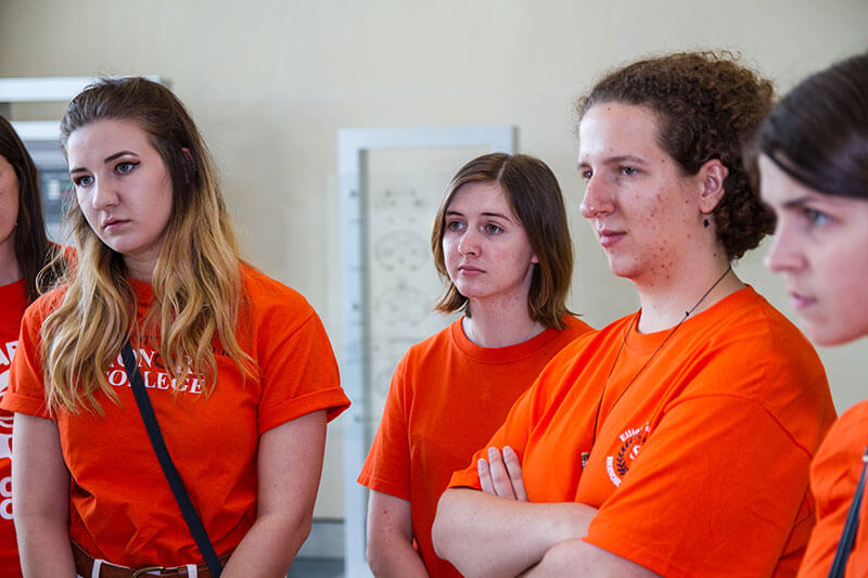 SHSU students see first-hand the needs for adaptive devices.
