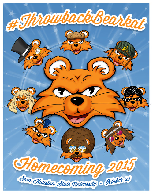 Sam Houston State University Homecoming October 24, 2015