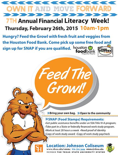 Houston Food Bank Social Service Outreach Program