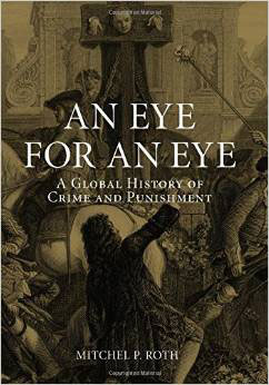 Roth's book cover An Eye for An Eye