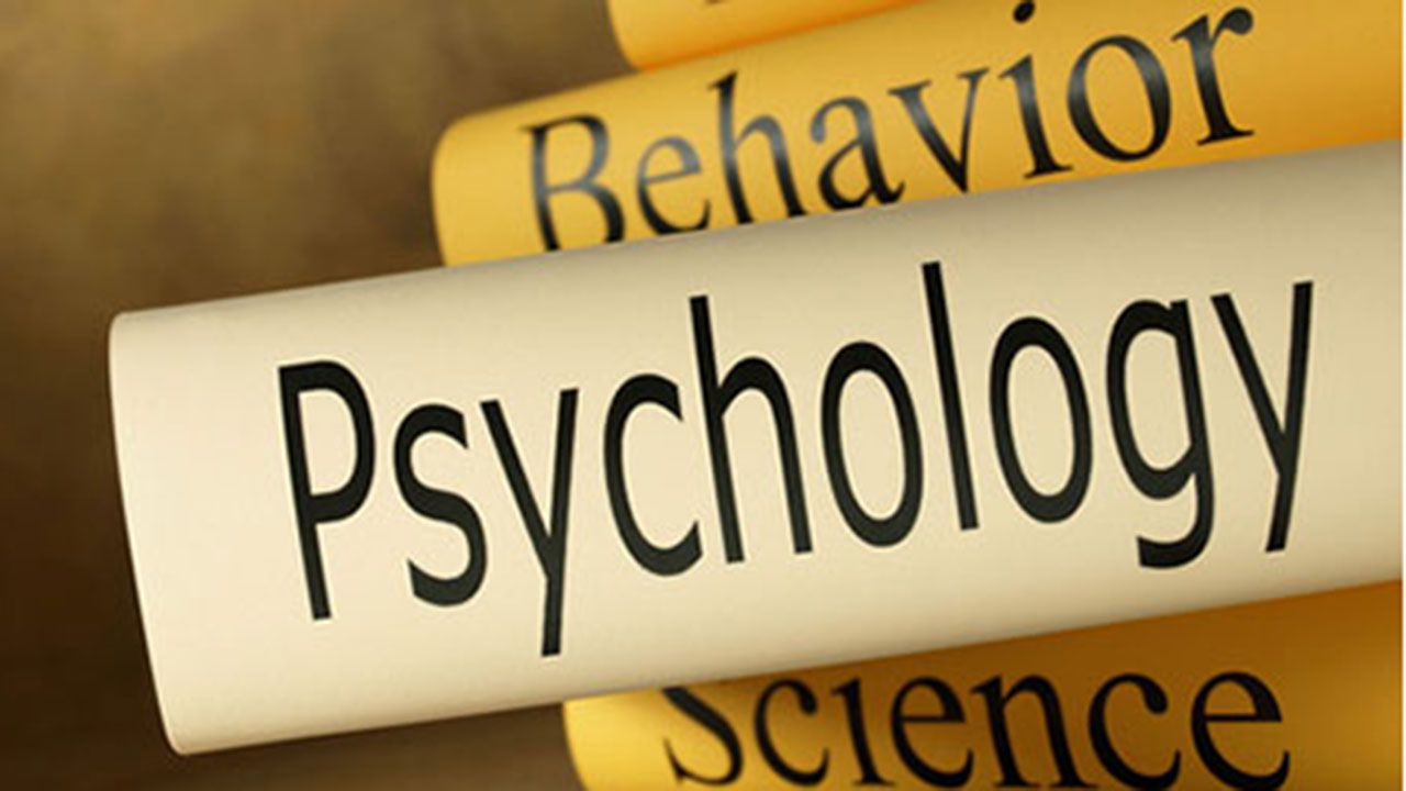 scroll with the word psychology on it