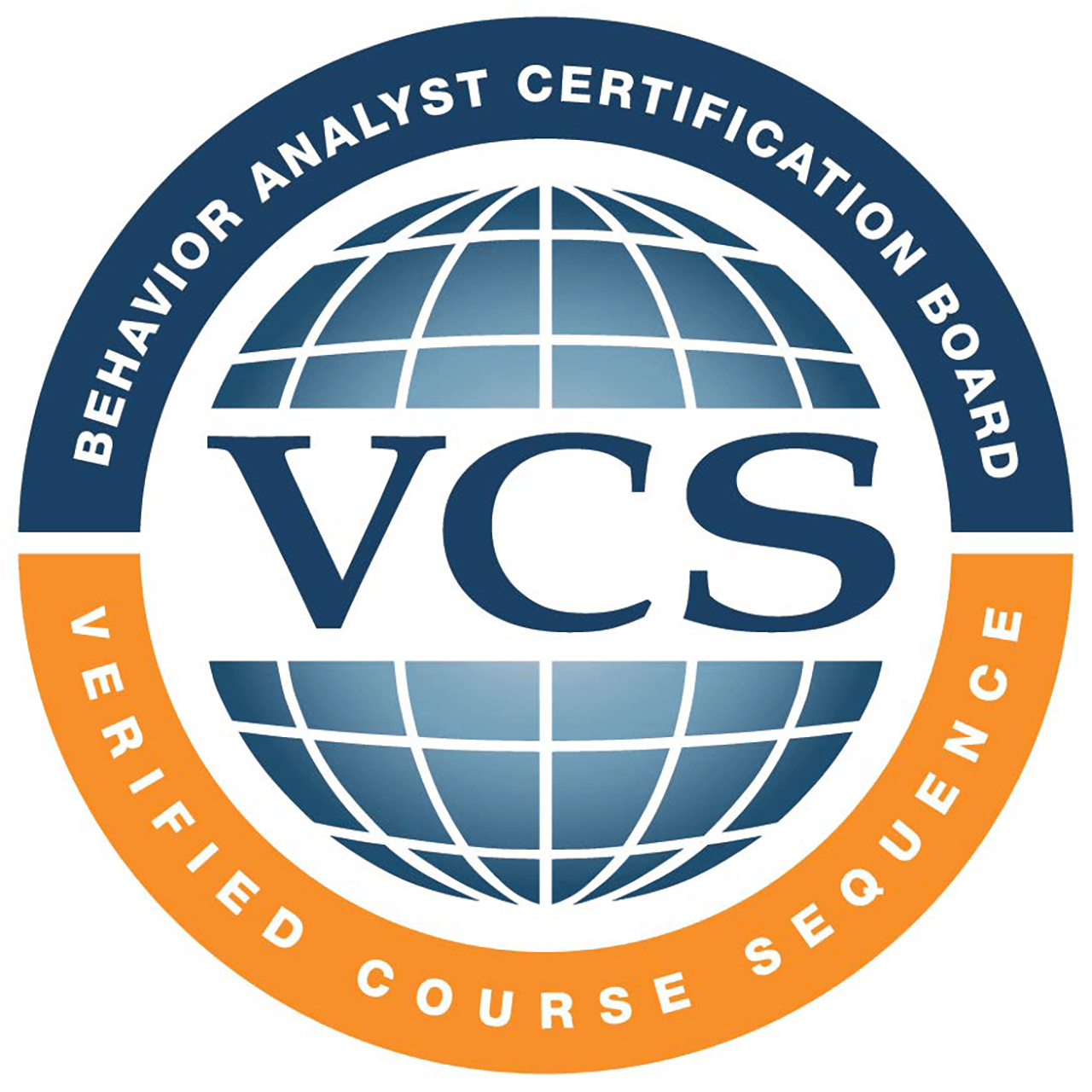 The BACB badge certifying that this program's course sequence meets the coursework requirements.