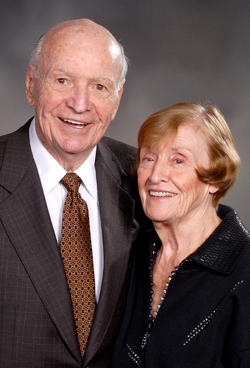 Howard and Nancy Terry, founders of the Terry Foundation