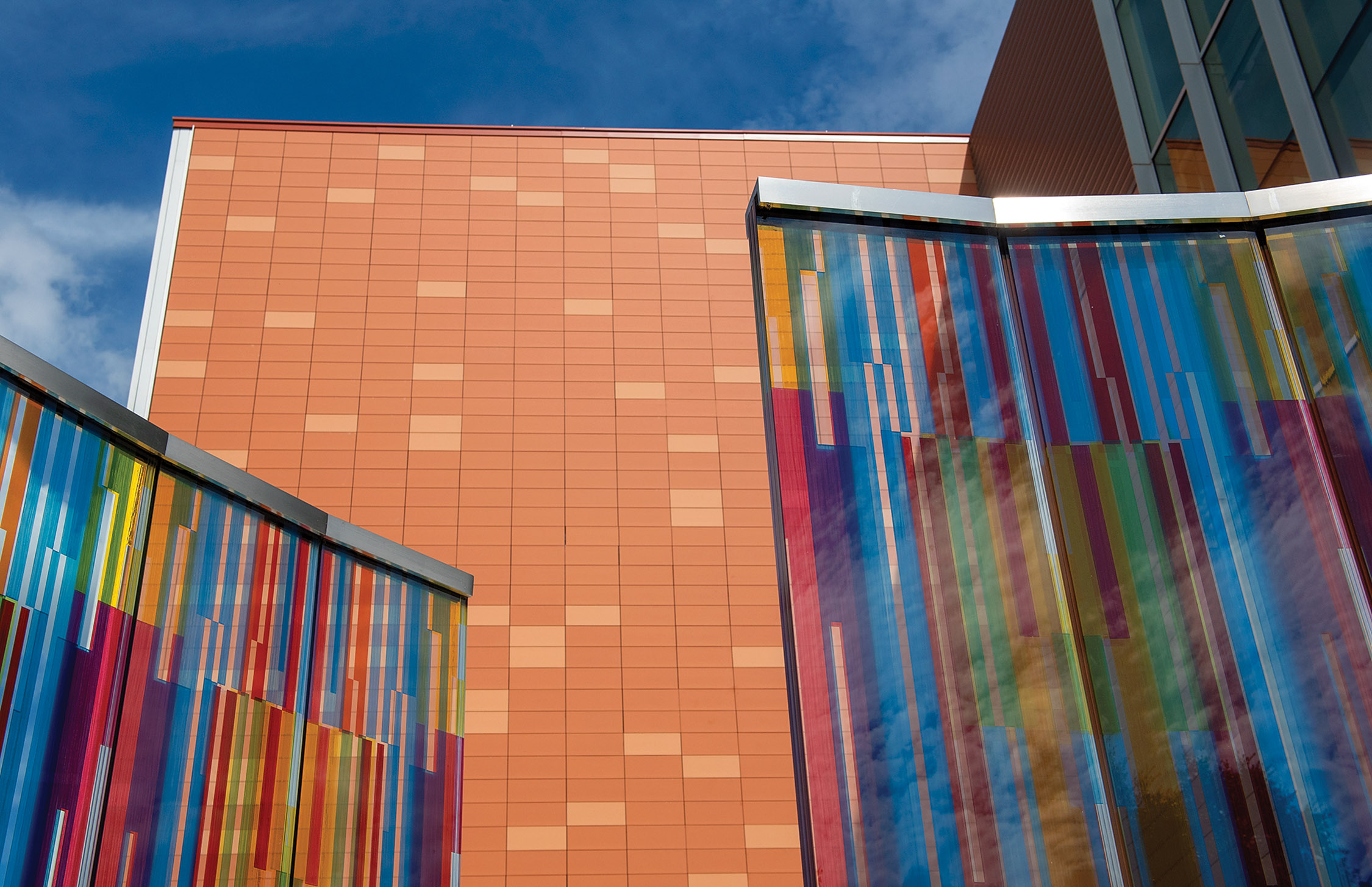 New Art building on SHSU campus