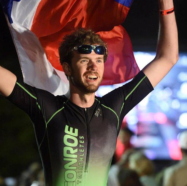 Student Completes IRONMAN Texas Triathlon - Sam Houston