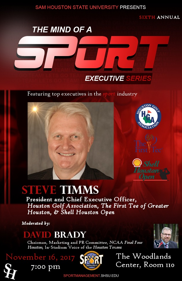 The Mind of a Sport Executive Forum 2017 Poster
