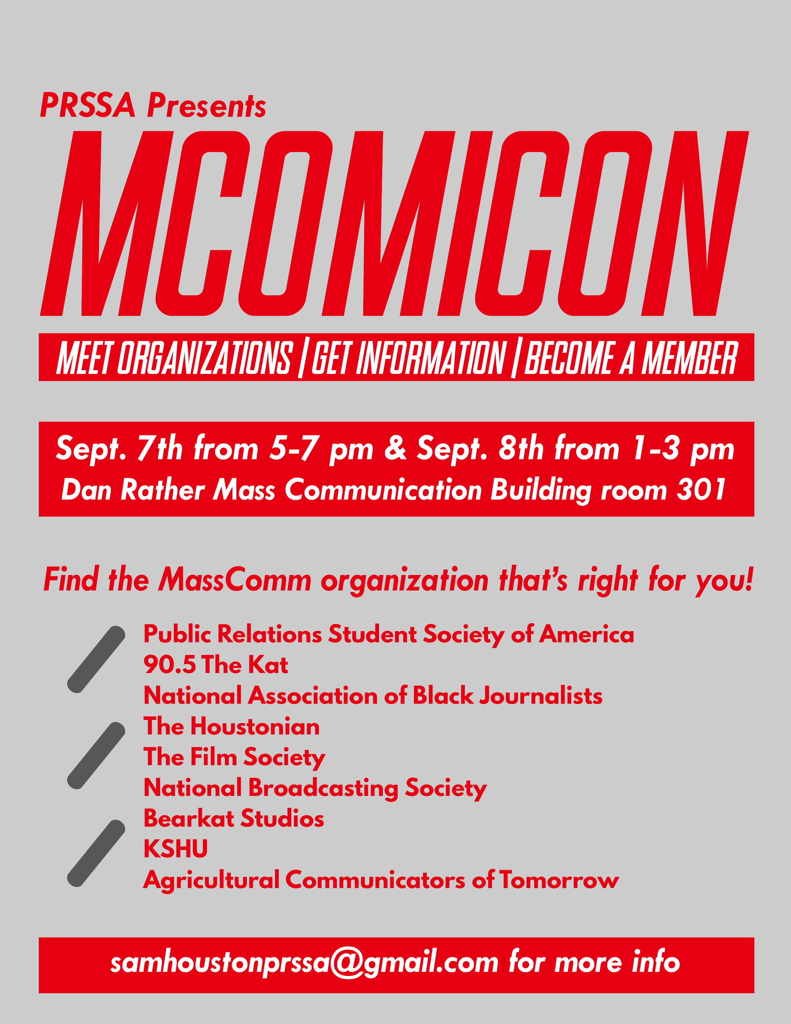 revised mcomicon flyer