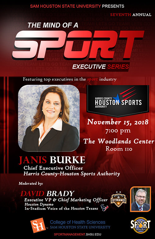 The Mind of a Sport Executive Forum 2018 Poster