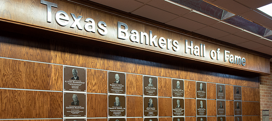 Texas Bankers Hall Of Fame Names Five Honorees - Sam Houston