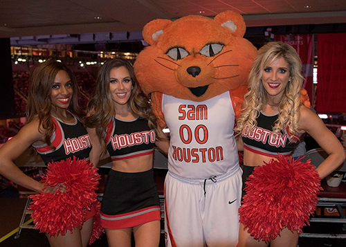 Sammy at Rockets night